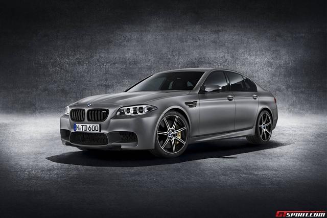 BMW chính thức công bố phiên bản M5 30 Anniversary