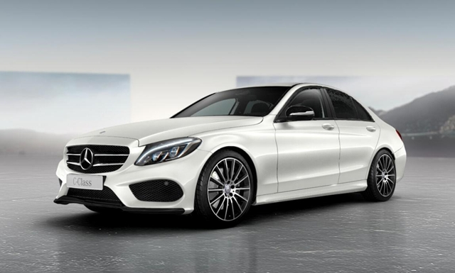 Lộ diện Mercedes-Benz C-Class Night Package