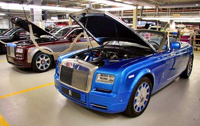 Phantom Drophead Coupe Waterspeed chính thức lộ diện