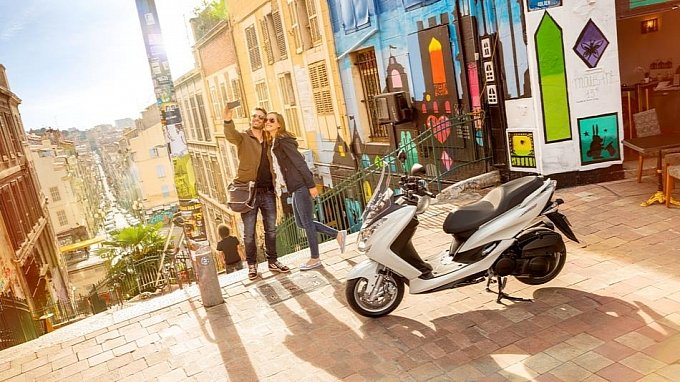 Yamaha ra mắt Majesty S 125cc