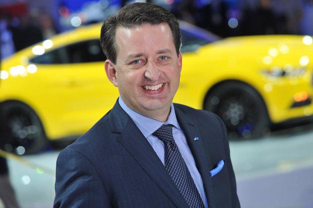 Ford Europe thay kĩ sư thiết kế mới
