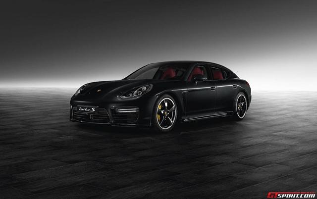 Porsche tung bản độc Panamera Turbo S Jet Black Edition