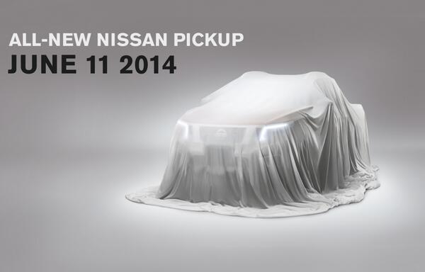 Nissan hé lộ mẫu pick up đời 2015 mới