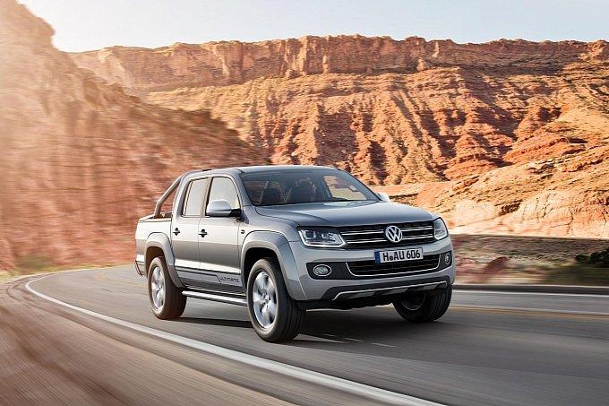VW ra mắt Amarok Ultimate tích hợp đèn pha công nghệ mới