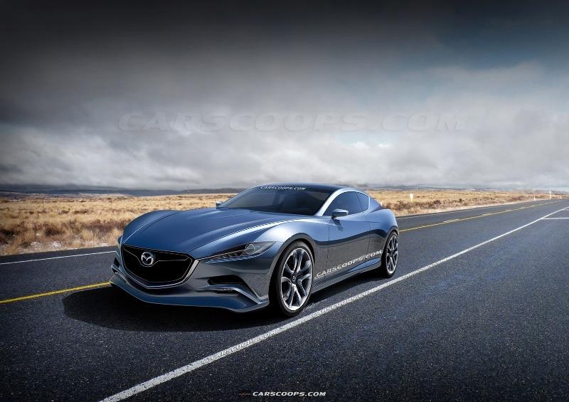 Mazda hồi sinh động cơ quay với RX-7/RX-8 2017