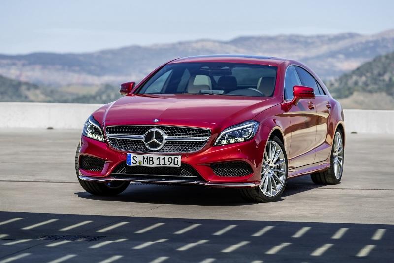 Mercedes-Benz CLS chính thức lộ diện phiên bản 2015