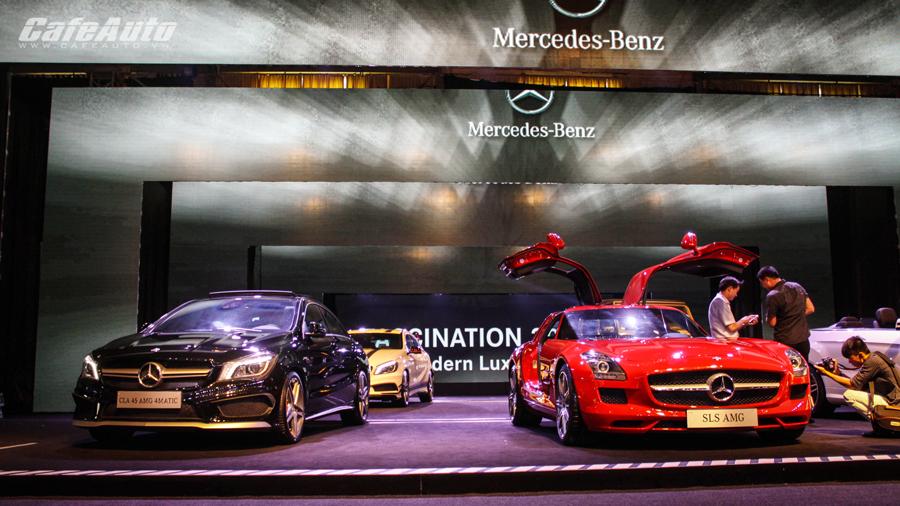 Mercedes-Benz Fascination 2014 khai màn đầy ấn tượng