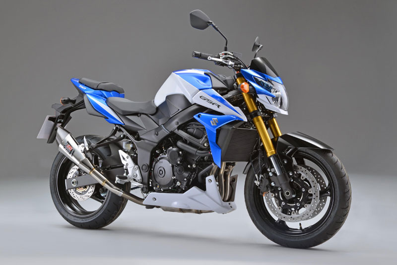 Suzuki GSR750Z: thêm lựa chọn xe côn trên 700cc