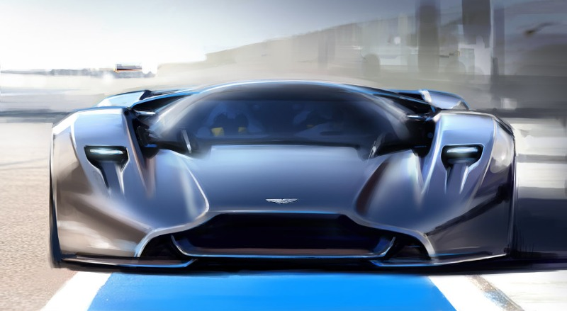 Aston Martin Vision Gran Turismo lộ diện hoàn toàn
