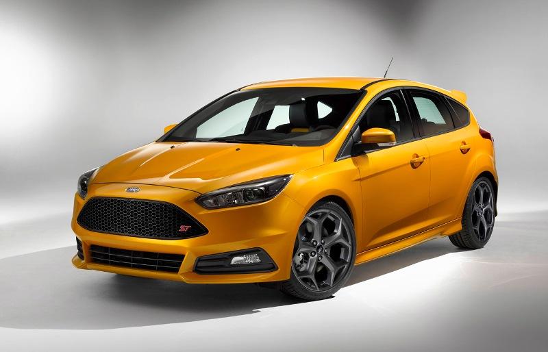 Ford Focus ST 2015 xuất hiện với thiết kế mới