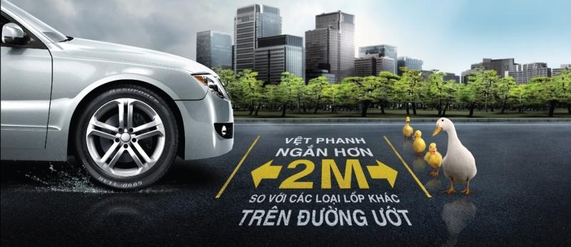 Goodyear Việt Nam ra mắt dòng lốp đặc biệt cho mùa mưa