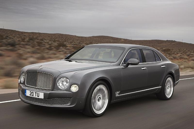 Bentley âm mưu nâng cấp sức mạnh Mulsanne