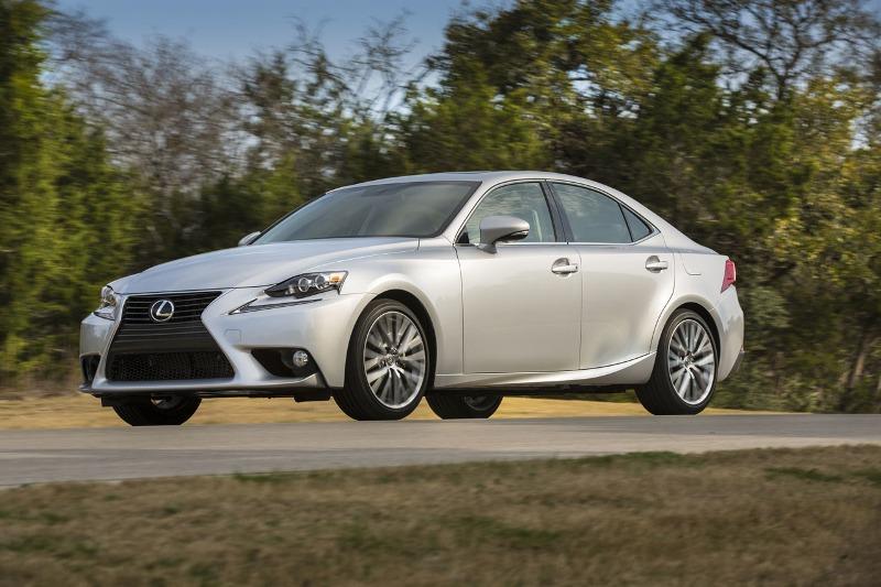 Lexus IS nâng cấp sớm cho phiên bản 2015