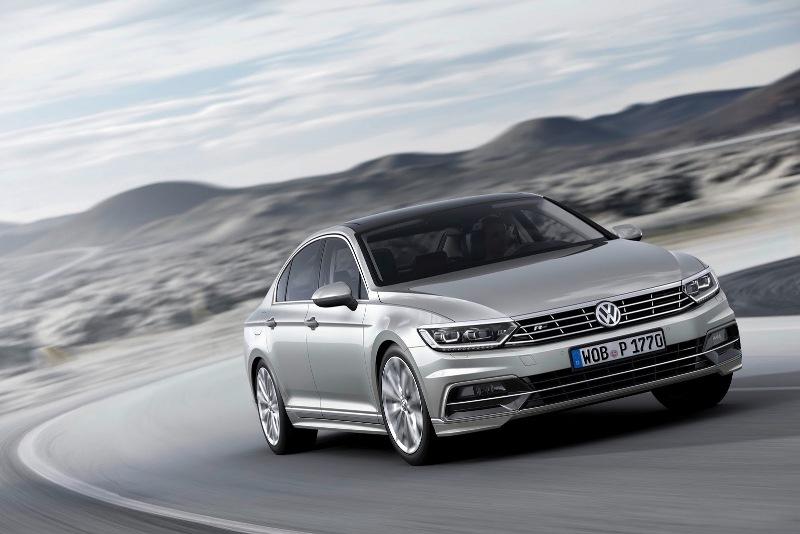 Volkswagen Passat 2015 chính thức ra mắt tại châu Âu