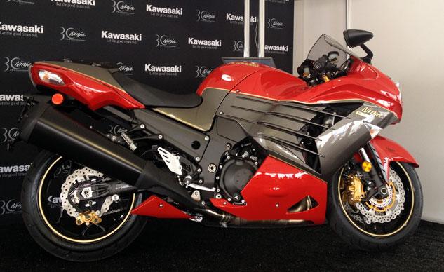 Kawasaki Ninja ZX-14R Edition có giá từ 15.899 USD