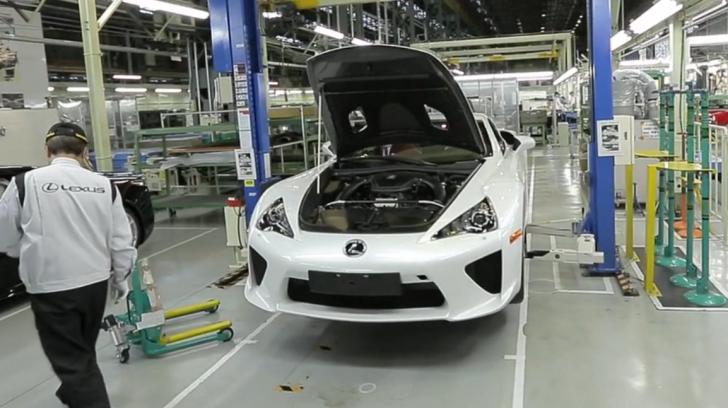 Lexus sắp khánh thành nhà máy thứ 3 của mình