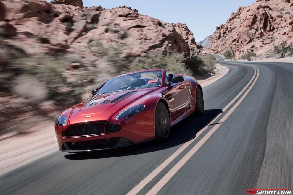 Aston Martin trình làng siêu xe mui trần V12 Vantage S