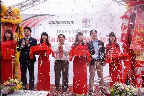 Bridgestone khai trương trung tâm lốp xe B-Shop thứ 3 tại Hà Nội