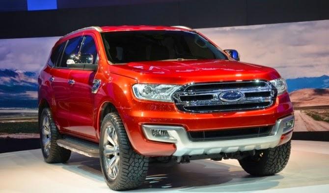 Ford Everest thế hệ mới xuất hiện tại Thái Lan