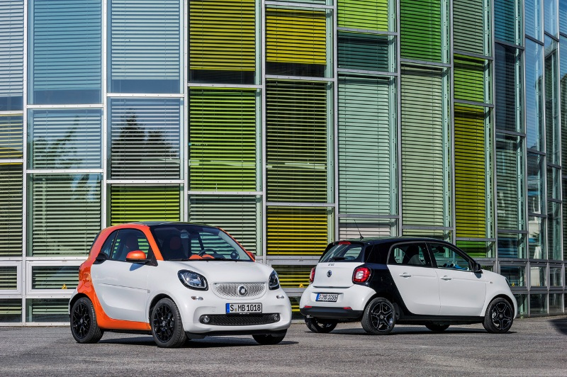 Smart Fortwo, Forfour hồi sinh với khung gầm mới