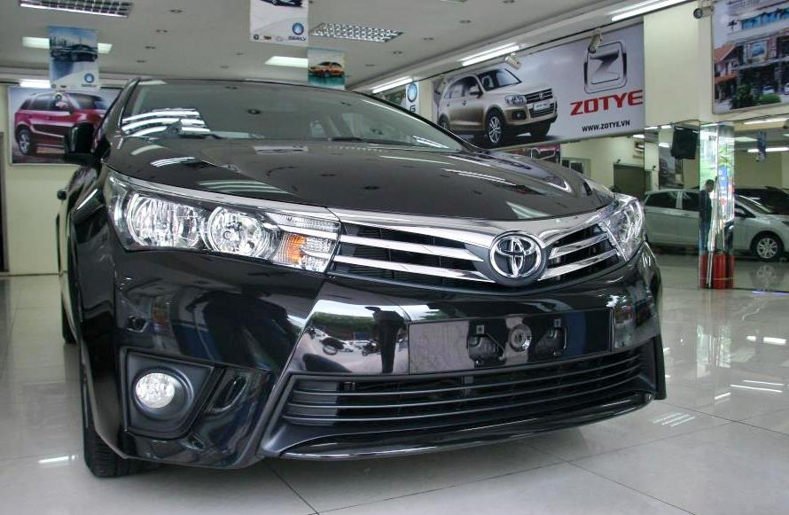 Toyota Corolla Altis 2014 bất ngờ xuất hiện tại Việt Nam