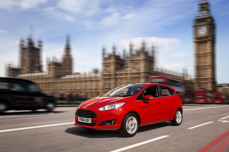 Ford Fiesta là mẫu xe bán chạy nhất nước Anh