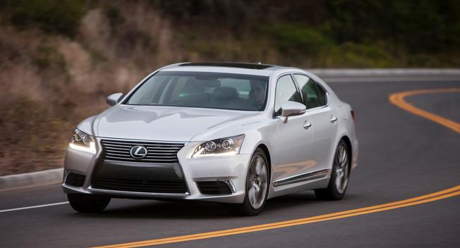 Lexus LS 2017 sẽ thể thao hơn