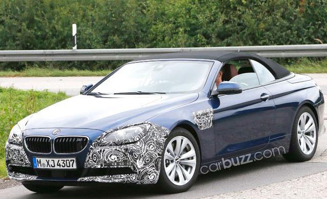 Bắt gặp BMW 6-Series Cabriolet bản nâng cấp