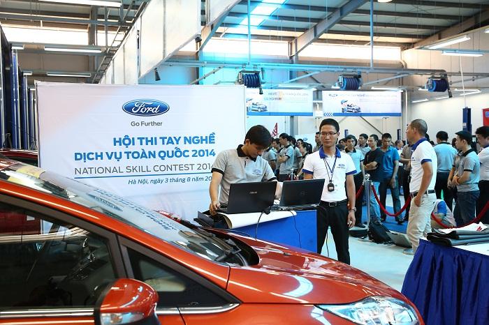 Ford Việt Nam tổ chức Hội thi tay nghề lần thứ 7