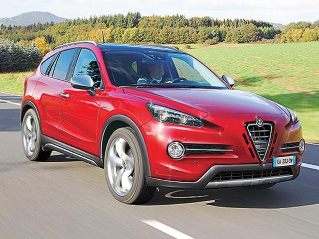 Xe SUV của Alfa Romeo sẽ ra mắt vào năm 2016