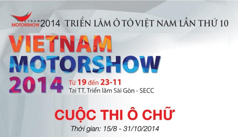 Khởi động Vietnam Motor Show bằng cuộc thi giải ô chữ