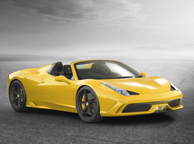 Ferrari 458 Special Spider xuất xưởng với số lượng chỉ 458 xe