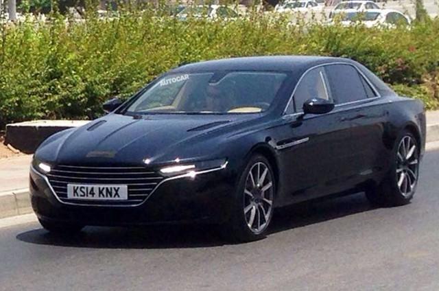 Aston Martin Lagonda lộ diện hoàn toàn