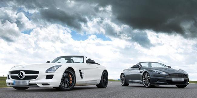 """Aston Martin và Mercedes-Benz sắp về """"chung nhà"""""""