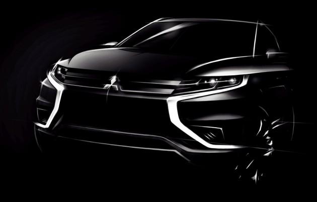 Mitsubishi Outlander PHEV Concept-S sẽ xuất hiện tại Paris Motor Show