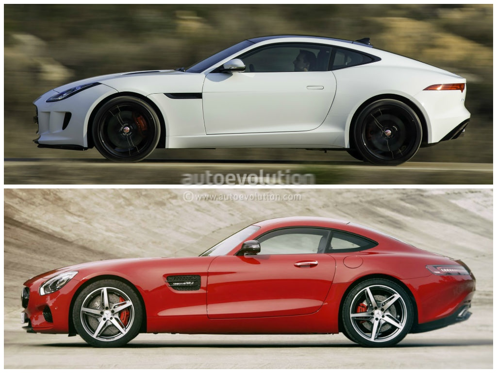 So sánh Mercedes AMG GT và Jaguar F-Type Coupe qua ảnh