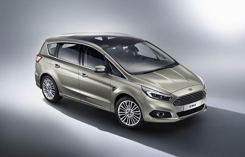 Ford vén màn S-Max thế hệ mới ở châu Âu