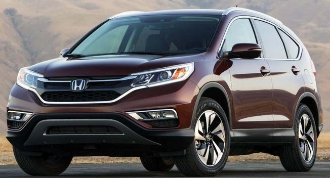 Honda để lộ hình ảnh CR-V 2015