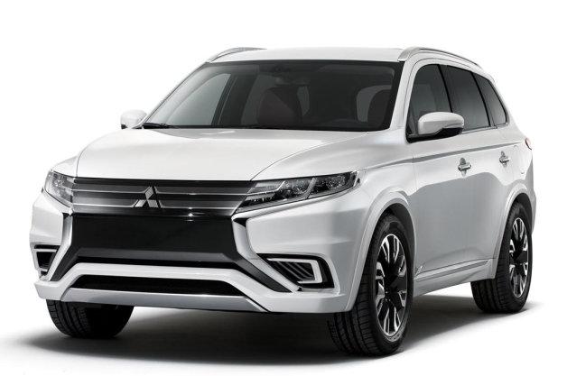 Mitsubishi Outlander PHEV Concept-S sẽ chính thức ra mắt ở Paris