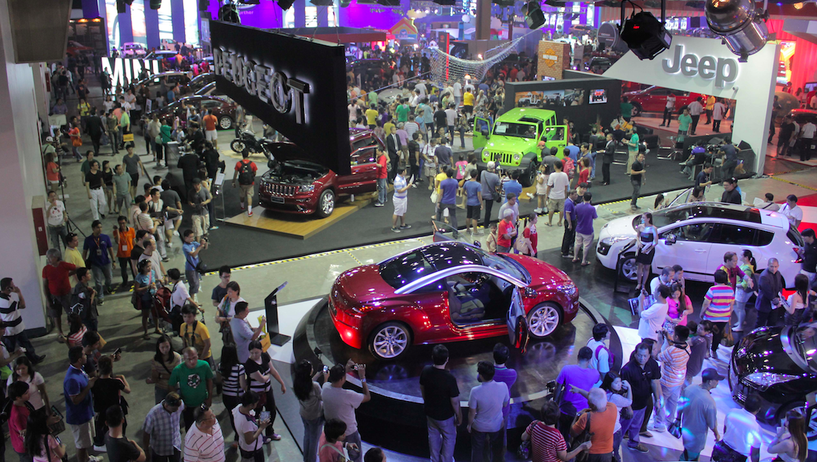 Triển lãm xe hơi Philippines 2014 có gì hấp dẫn?