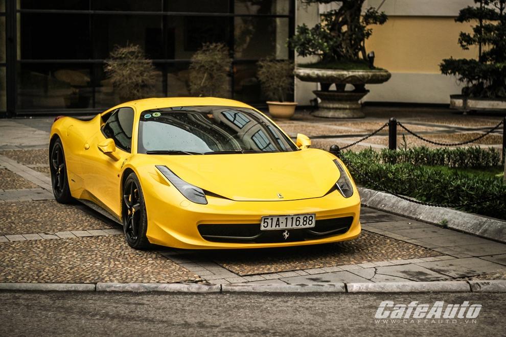 """3.400 siêu xe Ferrari 458 bị thu hồi vì lỗi """"trời ơi"""""""