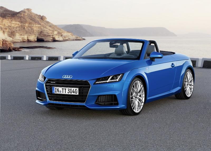 Audi lộ diện phiên bản TT và TTS mui trần