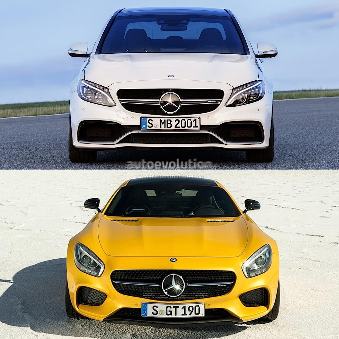 So sánh 2 mẫu xe mới ra mắt của Mercedes: AMG C63 và AMG GT