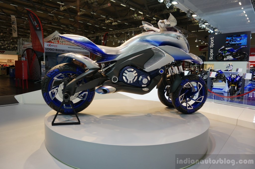 Intermot 2014: Yamaha khoe xe 3 bánh đa dụng tại triển lãm