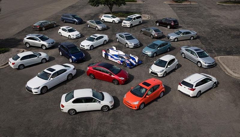 7 triệu xe Toyota hybrid được bán trên toàn cầu