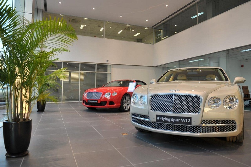 Đầu tháng sau, Bentley khai trương showroom đầu tiên tại Việt Nam
