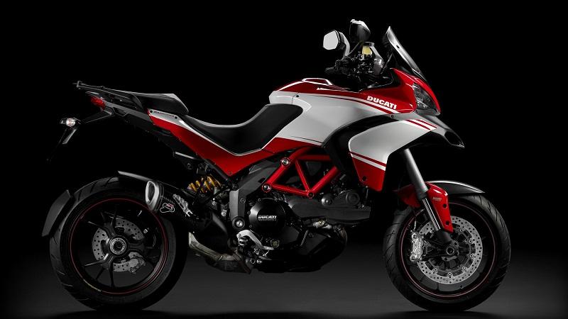 Ducati Multistrada cải tiến để cạnh tranh với BMW S1000XR