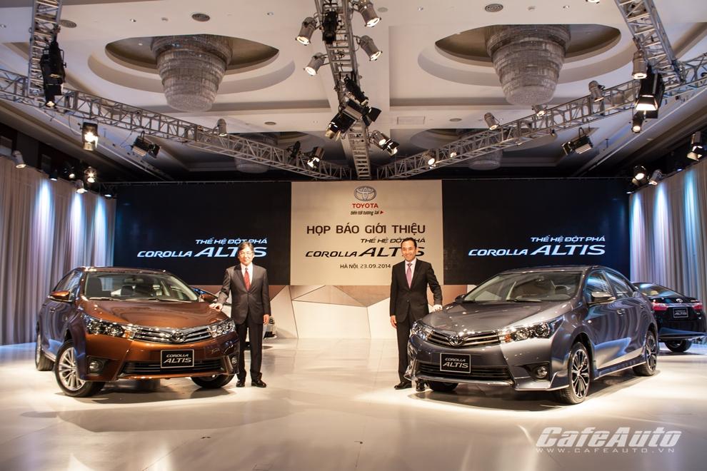 Toyota Việt Nam tăng trưởng 19% trong 9 tháng đầu năm 2014