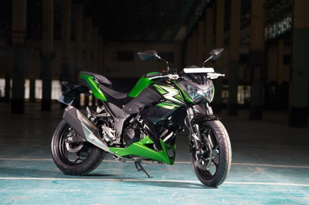 Chi tiết Kawasaki Z250 giá chỉ 103 triệu đồng vừa ra mắt