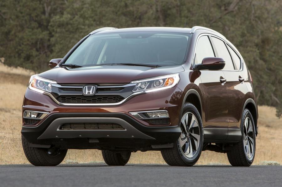 Honda CR-V là xe SUV của năm